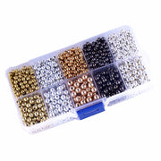 1500pcs DIY Jewelry Accessories Beads 4mm 5mm CCB Round Seed Spacer Beads For Jewelry Making DIY 5-colors