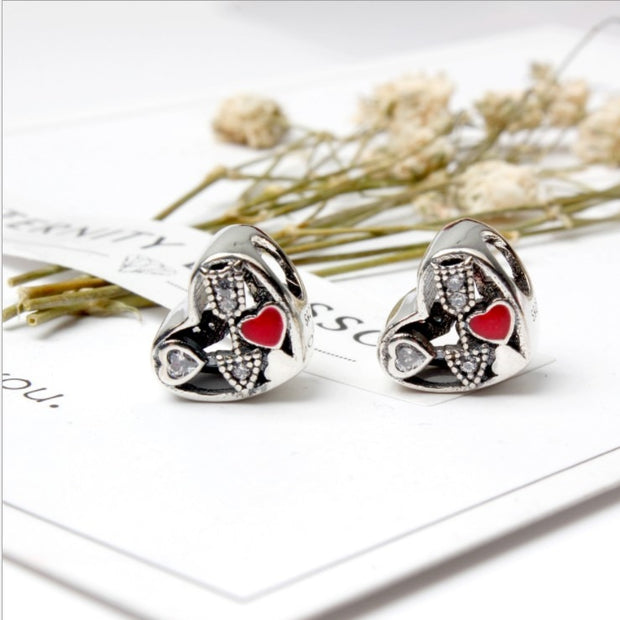 2017 NEW Authentic 925 Sterling Silver Fit Yuede Cupid Loves Arrows Beads Making Jewelry Jewelry Bracelet Diy Commonly Used