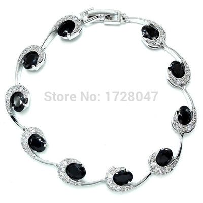 2017 New Arrival Special Peridot Crystal AAA Zircon Jewelry Rhodium Plated Bracelets & Bangle Fashion Jewelry