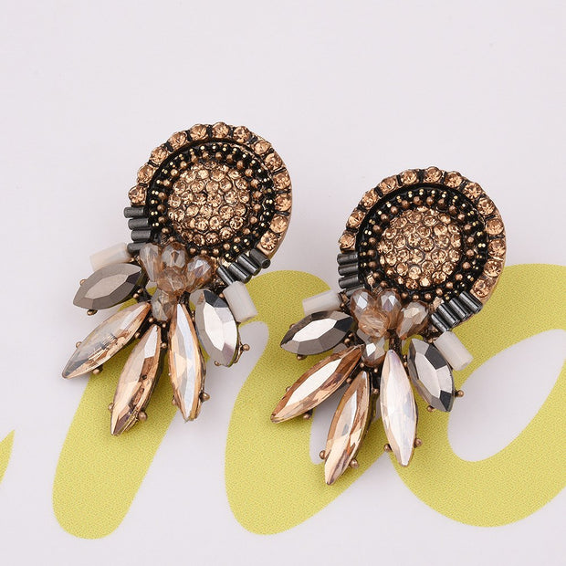 2017 Special Design Luxury Colourful Bohemian Hot Wholesale Earrings Women Jewelry Of Good Quality Vintage B048