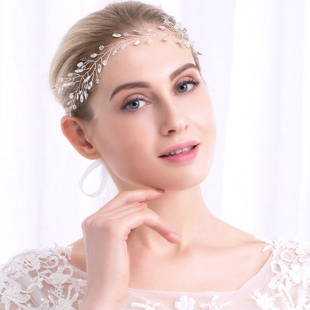 2018 New Rhinestone Hair Ornaments Women Bridal Hair Accessories Girl Jewelry