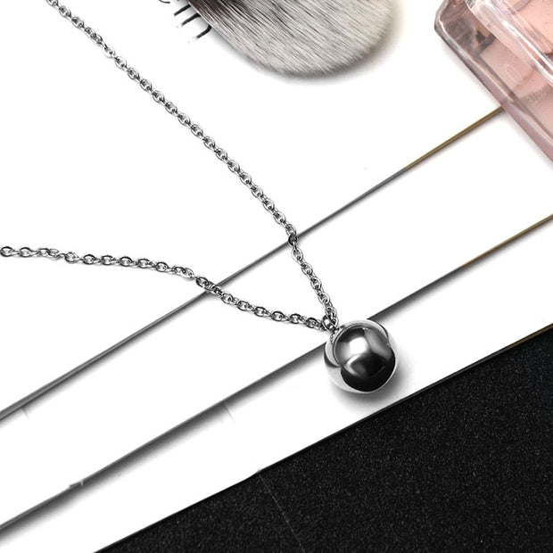2018 Fashion Silver Gold Color Necklace Stainless Steel Necklace Pendant Necklaces Necklaces & Pendants For Women