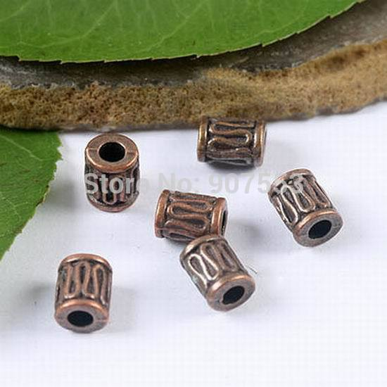 40PCS Antiqued Copper Tone Crafted Spacer Beads H1948