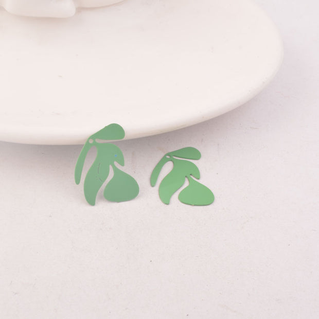 50pcs AC9907 17*20mm Tree Charms Branch Prints Pendants