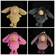 9cm Cute Dolls Fashion Toy Plush Toy Cartoon Dolls For Girl For Children Gift Sleep Baby Dolls Keychain Toys