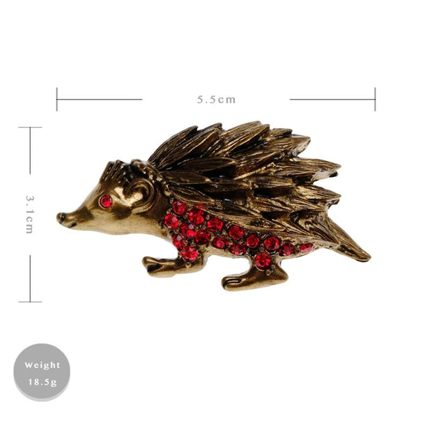 Amorita Boutique Design Animal Hedgehog Brooches