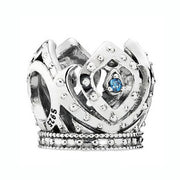 Anna & Elsa Princess Majestic Fairy Tale Royal Crown Princess Emoticon Beads Fit Pandora Bracelet 925 Sterling Silver Charm