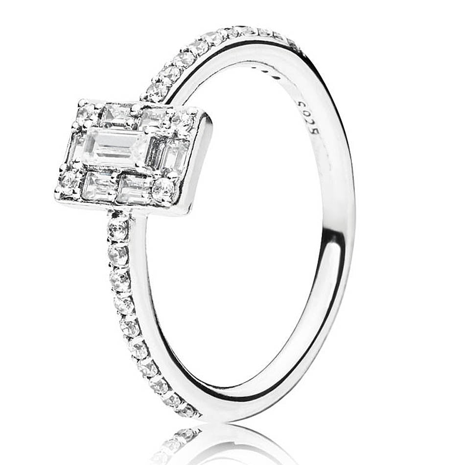 Authentic 925 Sterling Silver Ring Luminous Ice With Crystal Rings For  Women Wedding Party Gift Fine Pandora Jewelry