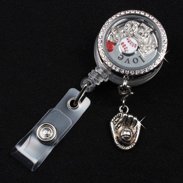 Alloy badge reel
