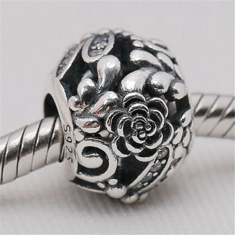 dac432a53 Delicate 925 Sterling Silver Natural Dragonfly Charm Bead Fit Original Pandora  Bracelet Bangle Necklace Women DIY Europe Jewelry