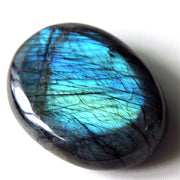 Druzy Natural LABRADORITE Crystal Healing Smooth Soap Shape Polishing MoonStone Beautiful Flow Light
