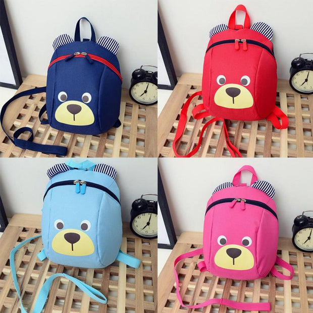 Fashion Cute Lovely Mini Kindergarten Kids Cartoon School Book Storage Jewelry Display Bag Backpack Shoulders Bag