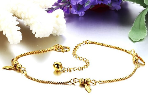 Fashion Jewelry Women Leaf Anklet Barefoot Sandals Ankle Bracelet Leg Foot Chain Wedding Wholesale Free Shipping,N722