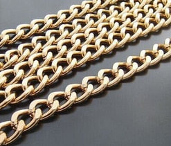 Free Shipping DIY Jewelry Accessories 18 * 13 Mm Large Batch Of Flower Extending Chain (aluminum Oxide Silver)