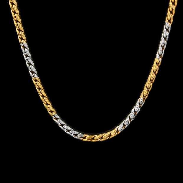 HOT Sale Gorgeous Gold Color Chain Necklace For Women & Men New Design Copper Jewelry