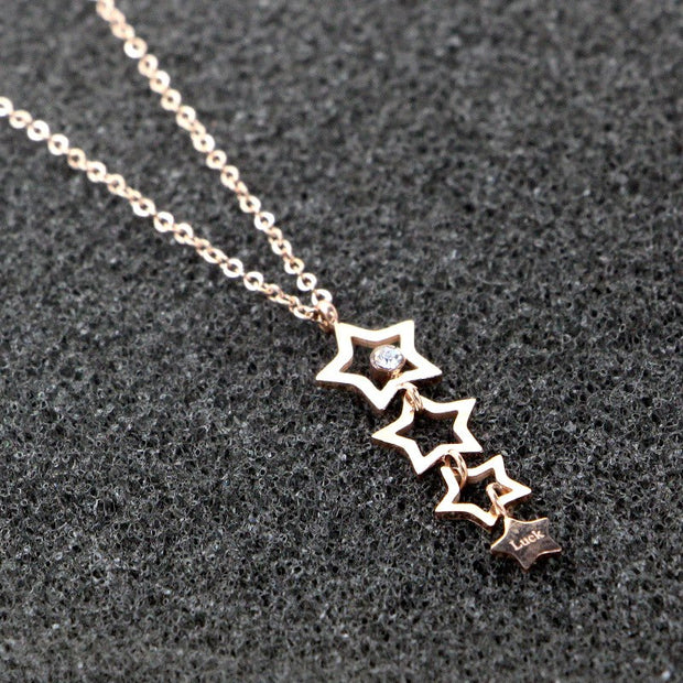 Hot Selling Stars Pendant Necklace New Arrival High Quality Handmade Necklaces Jewelry Necklace Jewelery Pendant For Women Best
