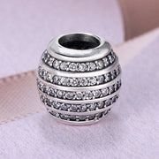 Logo Forever Spiral Infinite Of Love Wishing Star Fish Scale With Crystal Beads Fit Pandora Bracelet 925 Sterling Silver Charm