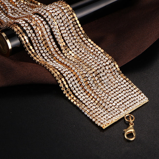 Luxury Chain Necklace Trendy Fashion Unique Design Party Jewelry Multi-layered Chain Choker