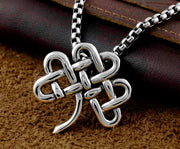 Mens Stainless Steel Biker Charm Pendant Necklace Jewelry #061