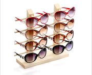 Multi-Size Wood Sunglasses Case Stand Jewelry Organizer Jewelry Stand Glasses Holder Glasses Rack Jewelry Display Wooden Rack