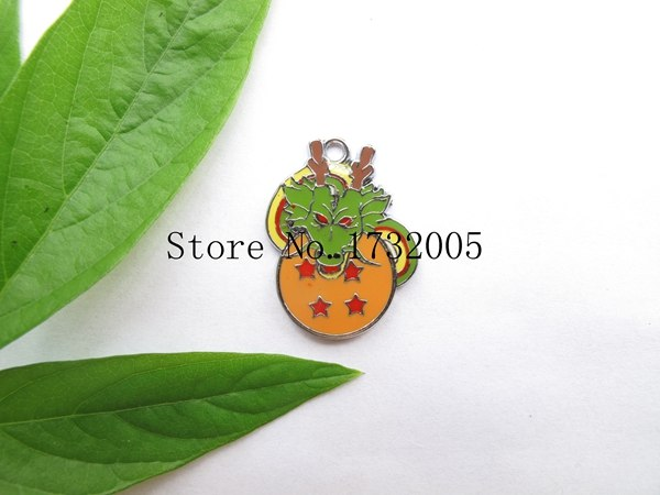 New 20 Pcs Cartoon Japanese Anime Dragon Ball Metal Charms Pendants DIY Jewelry Making Party Gifts PK-028