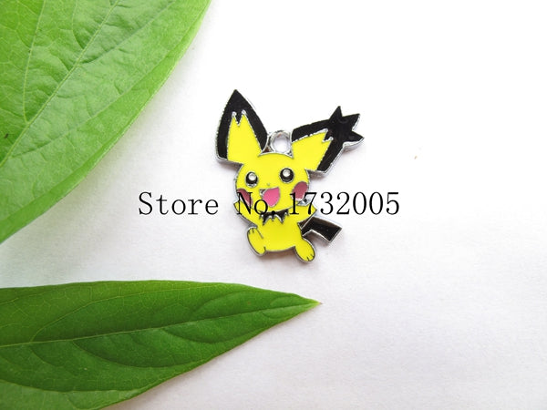 New 20 Pcs Cartoon Japanese Anime Metal Charms Pendants DIY Jewelry Making Party Gifts PK-02