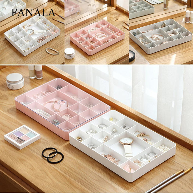 New Jewelry Watch Display Box Collection Case Exhibition Hall, Shop, Home, Etc. Holder Storage Organizer Box