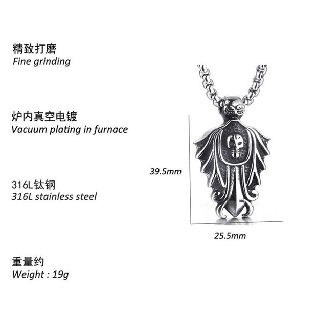 New Vintage Leaf Pendant Necklace Stainless Steel/Gold Color Retro Rope Chain Pendant Leaves Sweater Collier Femme