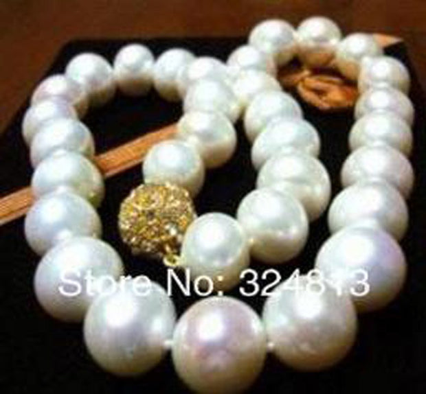 New Women's Fashion 8-9MM Akoya White Pearl Necklace #1001