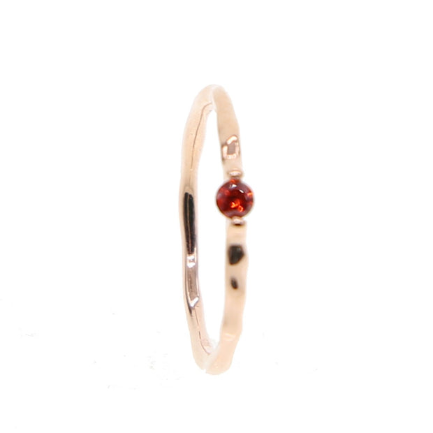 Quality Red\ Pink\ Cubic Zirconia Women Rose Gold Color Wedding Ring 925 Silver Jewelry 5# 6# Size Tension Setting Fashion Rings