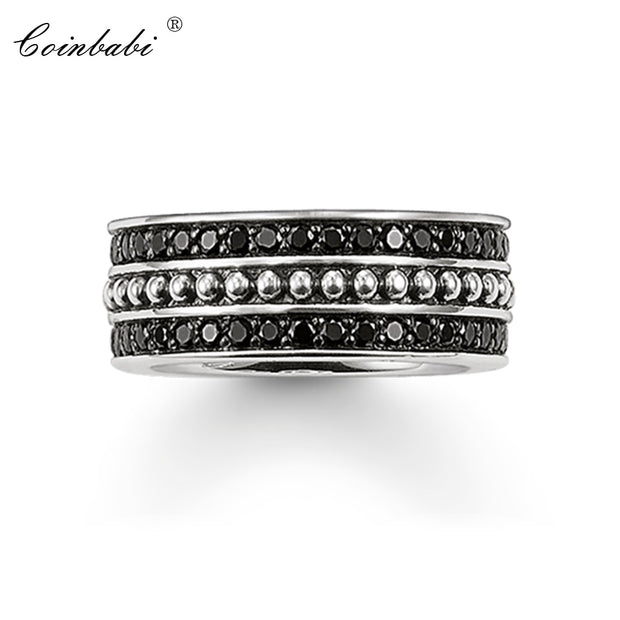 Rings 925 Sterling Silver Trendy Gift For Women Men, Thomas Style Glam Jewelry Eternity Rings TS Fashion Jewelry Wholesale