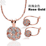 S163 Fashion Nickel And Lead Free Mixed Styles - Gold Plating Jewelry Set