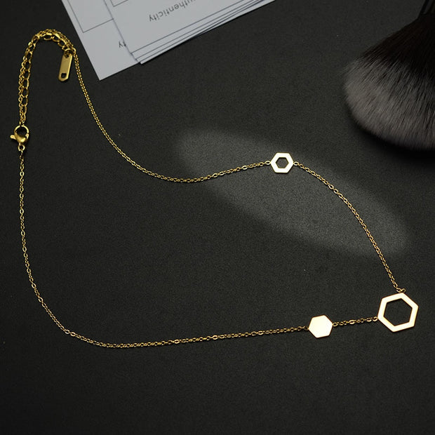 Statement Women Hollow Out Pendants Fashion Pendant Necklace Jewelry For Women Silver Color Necklace For Lovers Necklaces