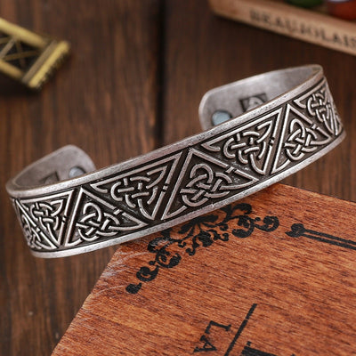 Viking Knot Bracelet Bangle Pagan Nordic Knot Wristband Cuff Drop Shipping
