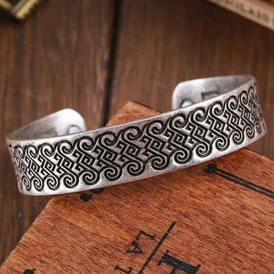 Viking Knot Bracelet Bangle Viking Figure Wristband Cuff Nordic Drop Shipping