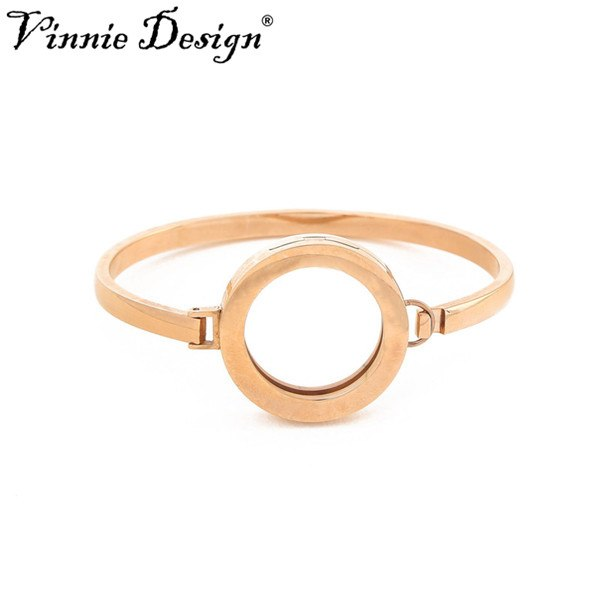 Vinnie Design Jewelry 2018 New Arrival Stainless Steel Bangle For 25mm Coin Disc High Quality Coin Bangles Bracelets