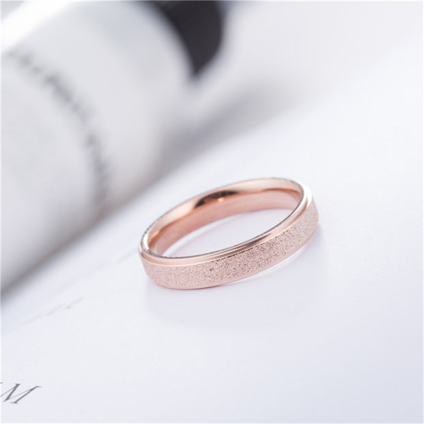 Women Rings Love Ring Punk Rock Finger Ring Men Jewelry Gold Silver Color Stainless Steel Wedding Band Rings Jewelry
