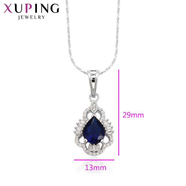 Xuping Elegant Pendant Charm Design With Environmental Copper Jewelry For Girl Women Mother's Day Gift M35-3008