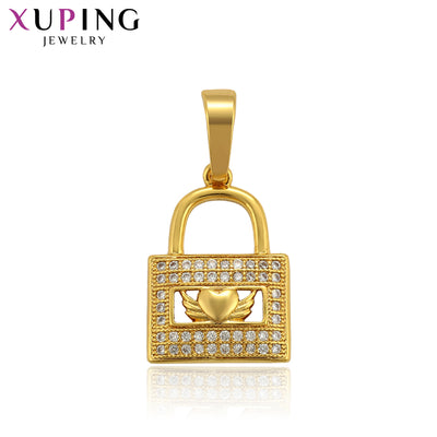 Xuping Jewelry For Women Synthesis Cubic Zirconia Literary Style Pendant Vintage Mother's Day Gifts S105,6-34561