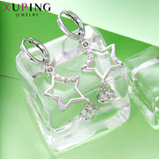 Xuping Luxury Star Shaped Earrings With Synthetic Cubic Zirconia Jewelry For Women Beautiful Wedding Bands Gifts S59-20123