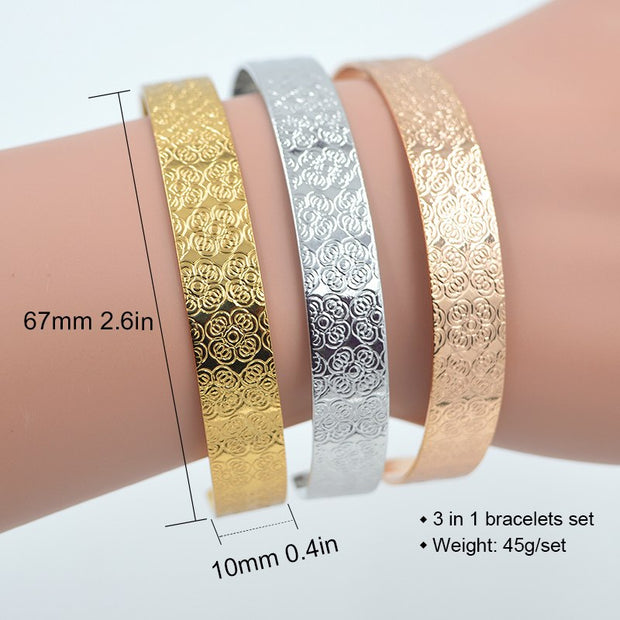 ZEADear Jewelry Cuff Bracelets Bangles For Women High Quality Exquisite Jewelry Copper Fairy Flower For Party Wedding Daily Gift
