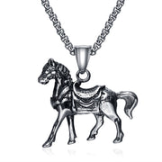 New Success And Unconstrained Style ICONS Titanium Steel Pendant Necklace Fashion Jewelry