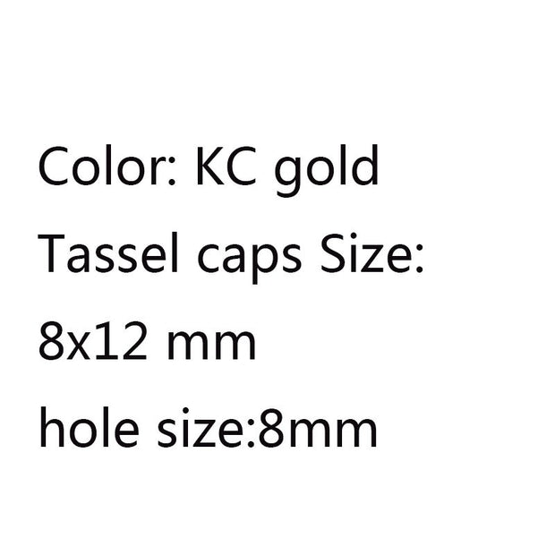 Kc gold cap  8x12mm