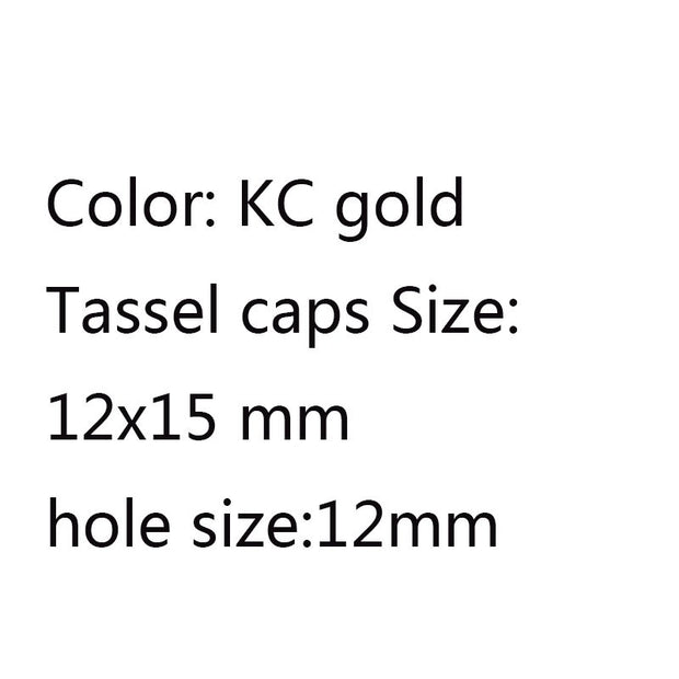 Kc gold cap  12x15mm