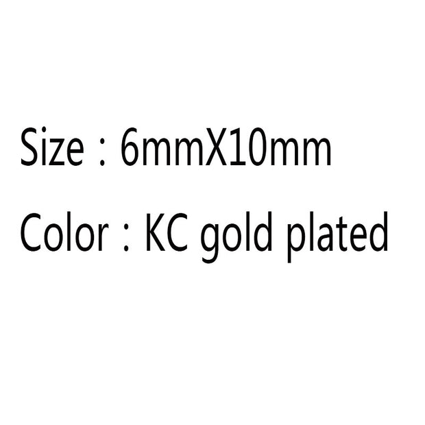 Kc gold cap  6x10mm