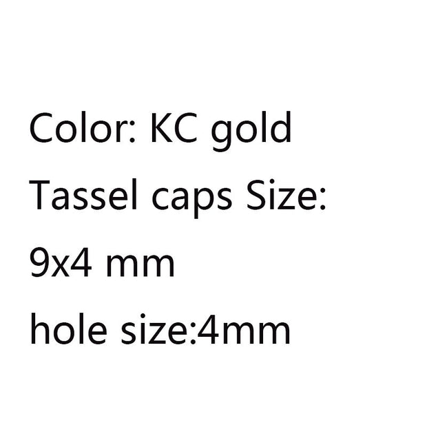 Kc gold cap  4x9mm