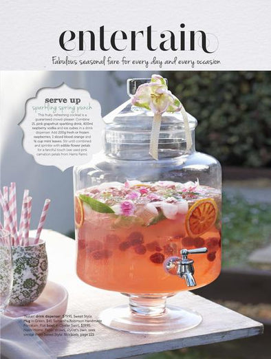 Nashi Home Flat Bowl Featured in Home Beautiful Magazine