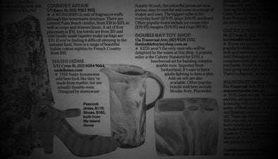 Nashi Home Features in Sunday Telegraph 3/02/2013