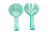 Resin Short Handle Salad Servers