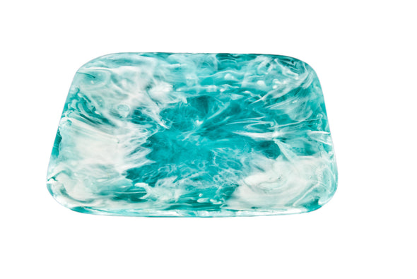 Resin Classical  Square Plate